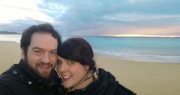 Sandra und David in Australien