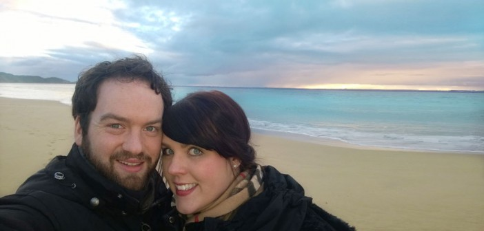 Sandra und David in Australien