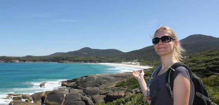 Chrissy in Australien