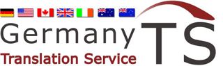 Fachübersetzungsservice von deutschen Dokumenten ins englische von GermanyTS