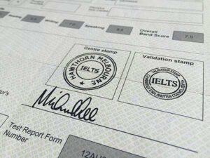 IELTS Test Zertifikat Melbourne