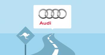 In der Liste deutscher Firmen in Australien, die Firma Audi